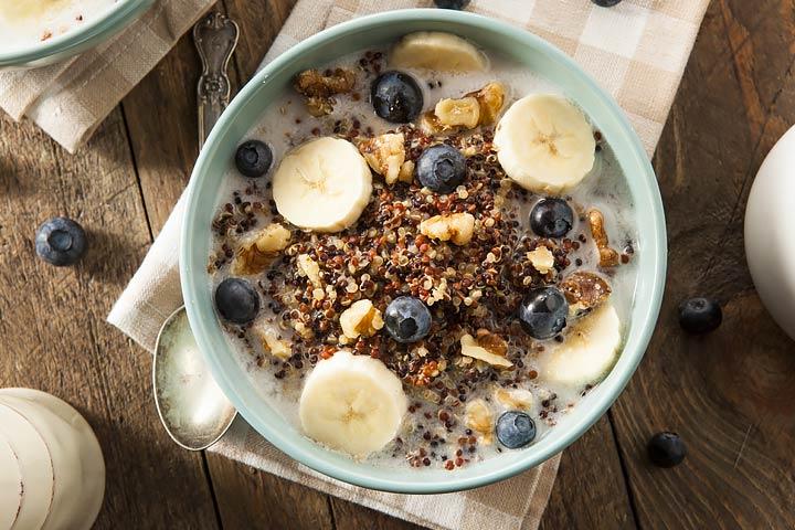 Quinoa And Banana Breakfast