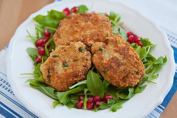 Quinoa And Chicken Patties