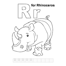 R For Rhinoceros