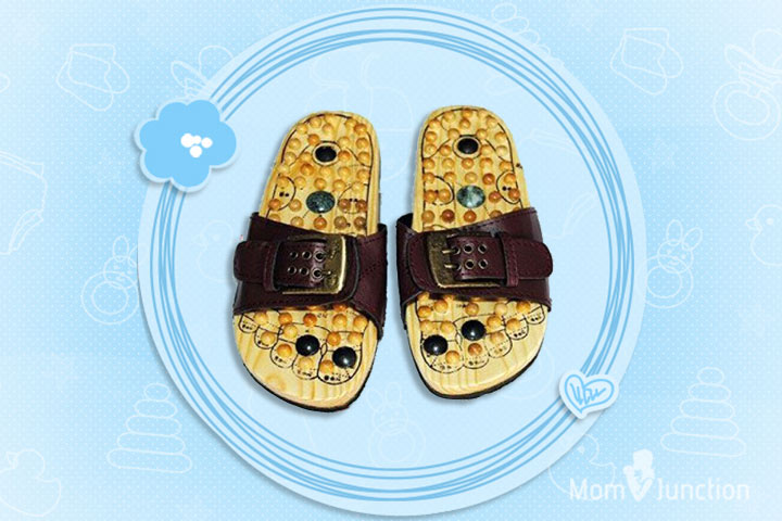 Relaxing Acupressure Foot Massager Slippers