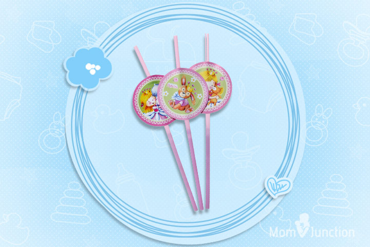 Riethmuller Sweet Little Princess Drinking Straws