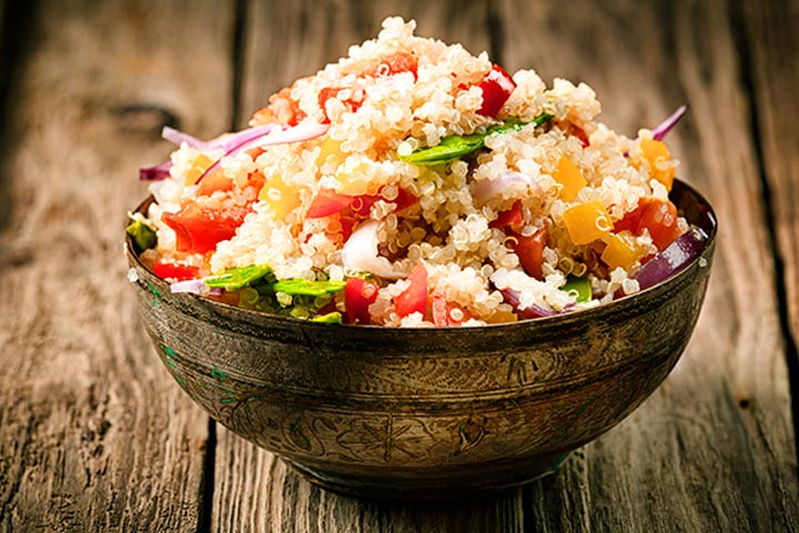 Savoury And Sweet Vegetable Quinoa