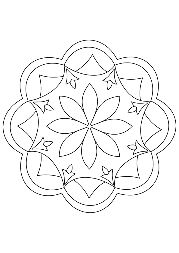 Simple-Rangoli