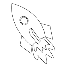 spaceship coloring pages rocket spaceship simple spaceship