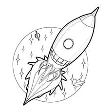 Spaceship Around The Orbit