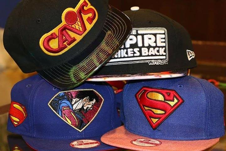 Superhero caps