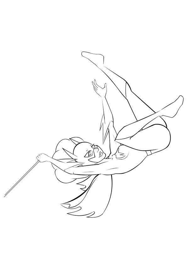 Swinging-Batgirl