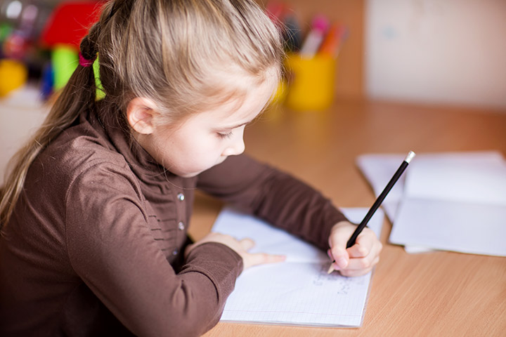 Teach And Help Your Left Handed Child To Write
