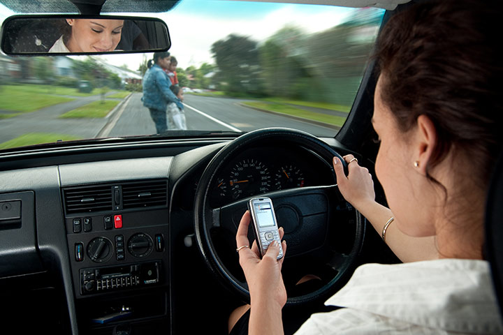 Teens Engage In Texting And Driving