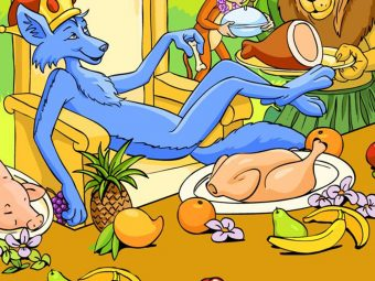 'The Blue Jackal Story & Moral' For Your Kid
