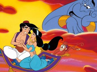'The Story Of Aladdin And Princess Jasmine' For Kids