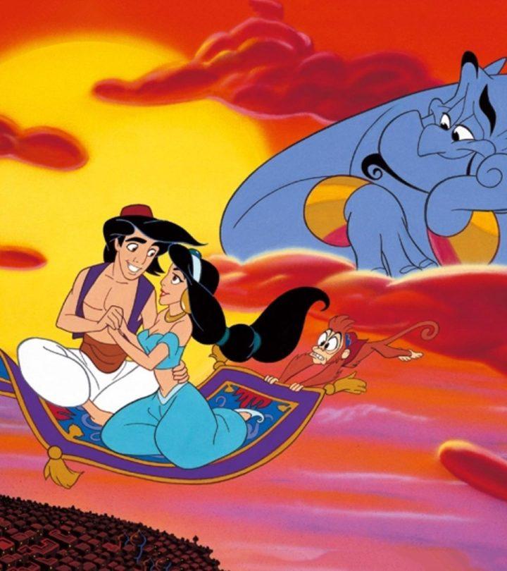 The Story Of Aladdin And Princess Jasmine