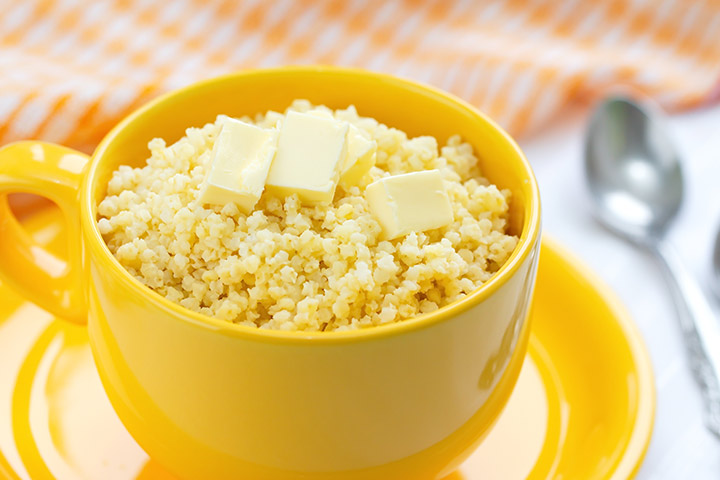Millet For Babies - Toasted Millet Baby Cereal