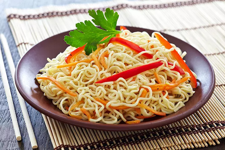 Two-minute style noodles