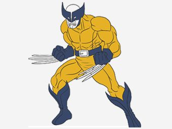Top 10 X-Men Coloring Pages For Toddlers