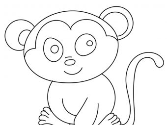 10 Lovely Chimpanzee Coloring Pages For Toddlers