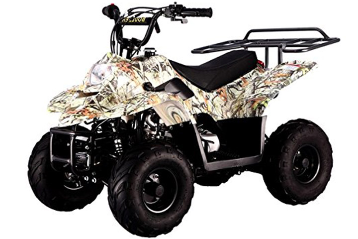 "110cc Four Wheelers 6"" Tires ATV"