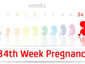 34th Week Pregnancy: Symptoms, Baby Development And Bodily Changes