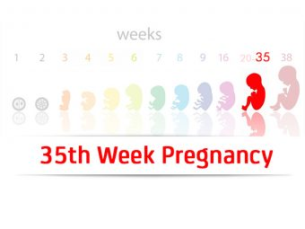 35th Week Pregnancy: Symptoms, Baby Development And Body Changes