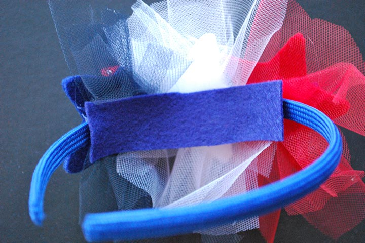 4th Of July Color Coordinated Headband