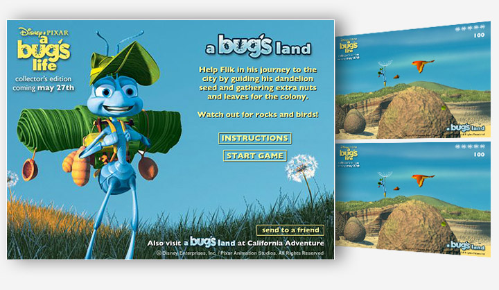 A Bug's Life In A Bug's Land