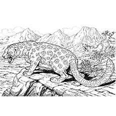 A Roaring Jaguar