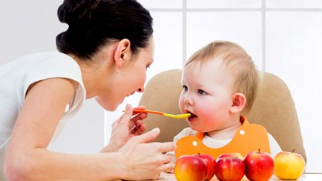 Apple Puree For Your Baby