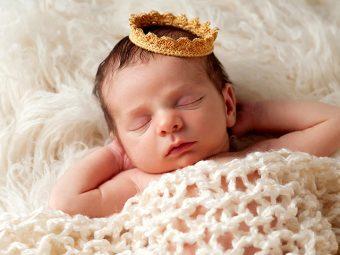 10 Wonderful Baby Boy Names That Mean Prince