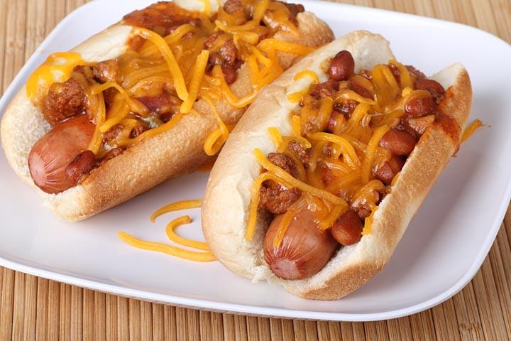 Beans And Hot Dog Bake