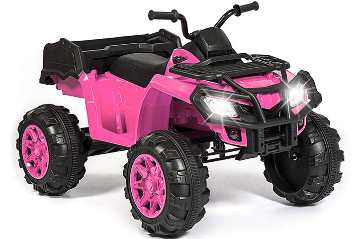 Best Choice Products 12V Kids Powered ATV Quad Ride-On Car