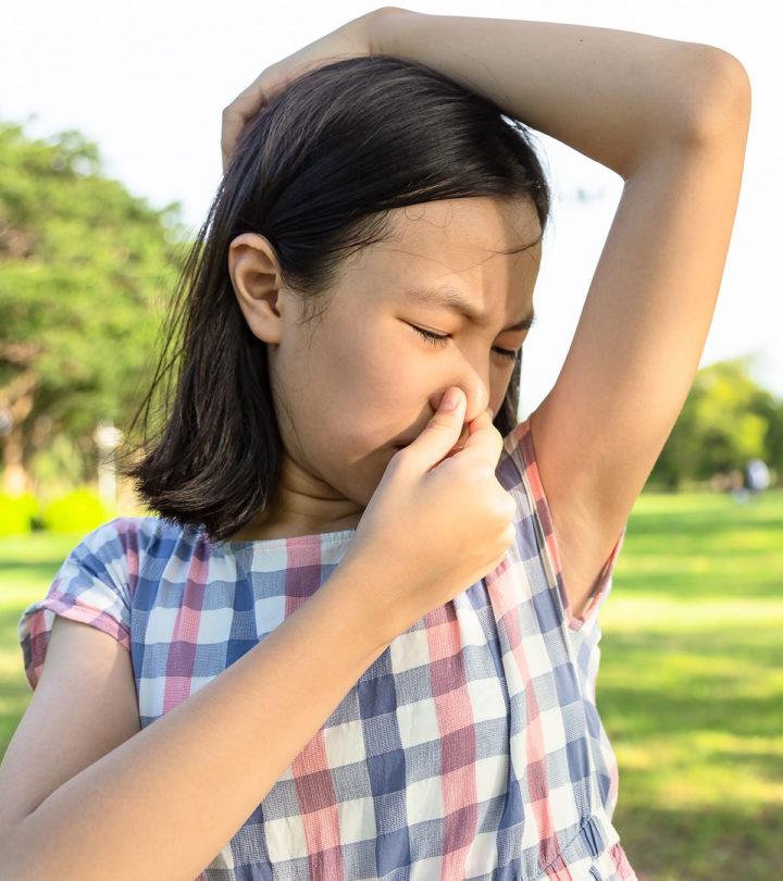 Body Odor In Children Causes