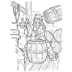 Bootstrap Bill Turner Coloring Page
