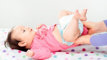 Change Your Baby's Cloth Diaper