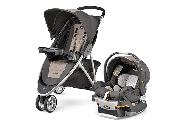 Chicco Viaro Quick-Fold Travel System