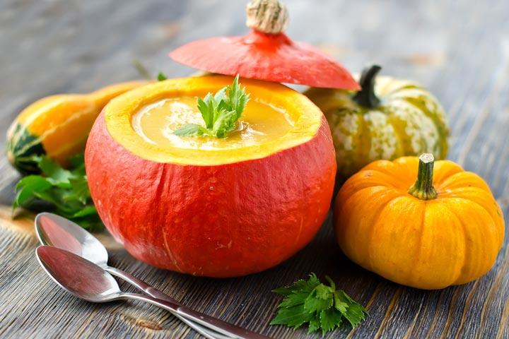 Cinderella Pumpkin Soup In A Pumpkin