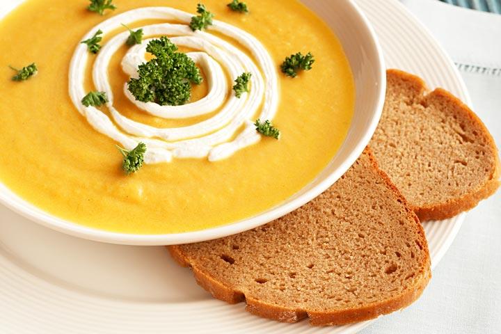 Creamy Pumpkin And Lentil Soup