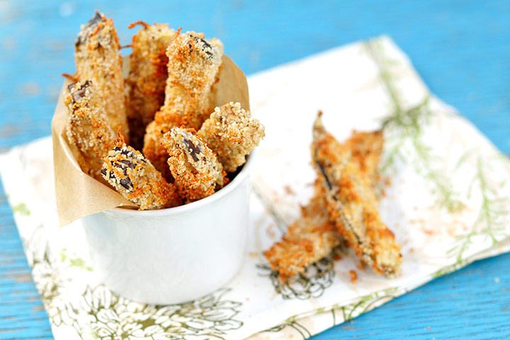Crispy Eggplant Sticks