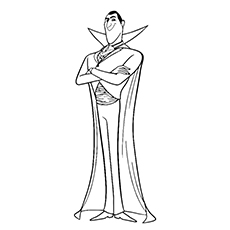 Top 10 Free Printable Hotel Transylvania Coloring Pages Online Dracula Coloring Pages