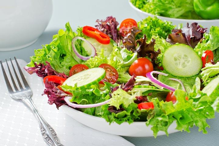 Easy Green Salad