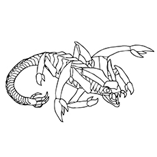 Top 10 Free Printabe Scorpion Coloring Sheets For Your Toddler