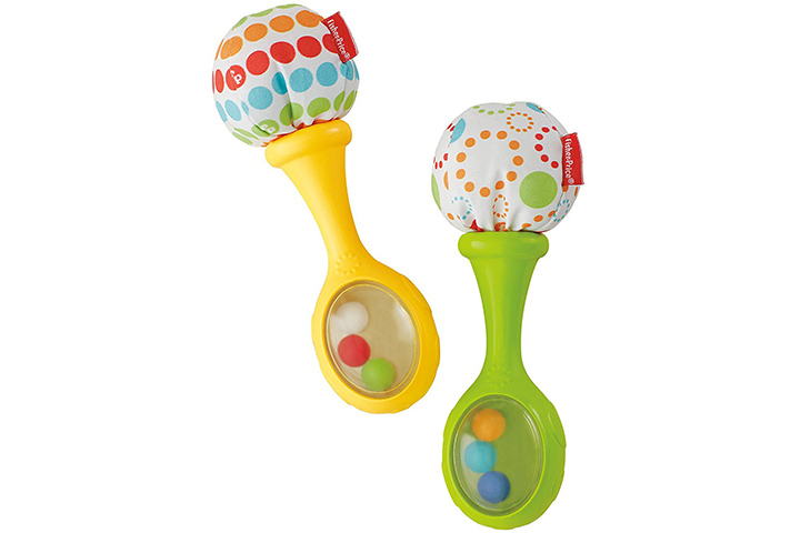 Fisher-Price Rattle and Rock Maracas Musical Toy