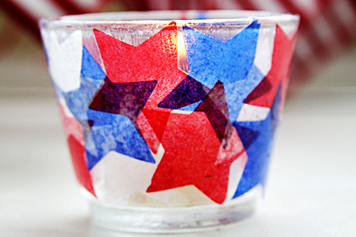 Fourth Of July Votive Candles
