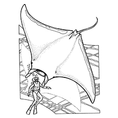 Top 10 Free Printable Stingray Coloring Pages Online