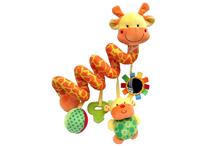 Giraffe Baby Crib Toy From Crib Critters