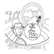 10 Cute Free Printable Wall-E Coloring Pages Online
