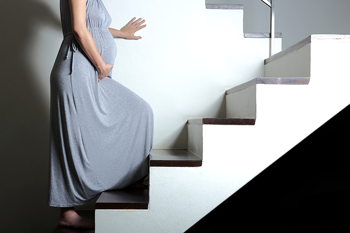 climbing stairs during pregnancy is it safe