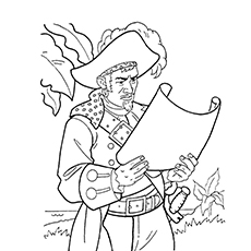 character named james norrington coloring page of kraken is sea monster in pirate of caribbean