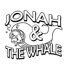10 best free printable jonah and the whale coloring pages - Jonah Whale Coloring Page