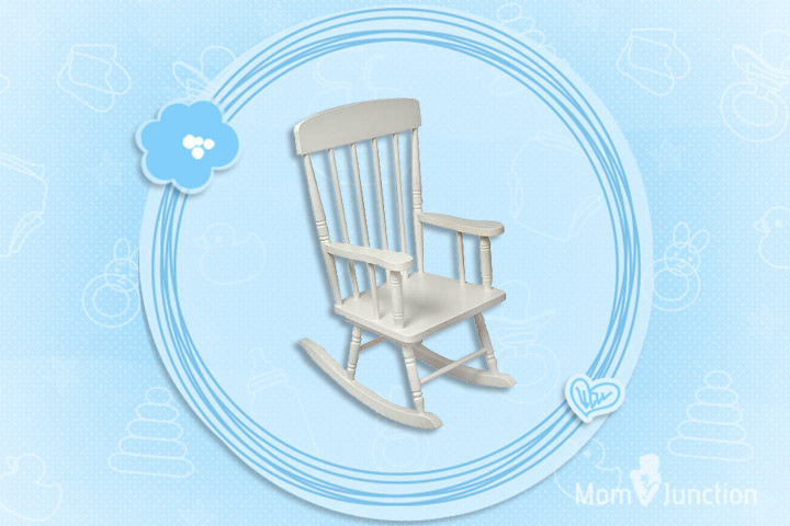 KidKraft Spindle Rocking Chair