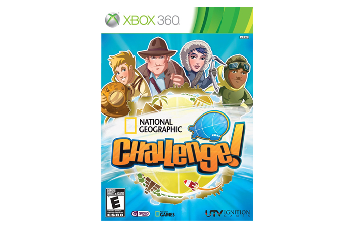 Educational Games for Xbox 360 - National Geographic Challenge